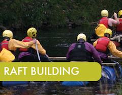 Raftbuilding North Wales